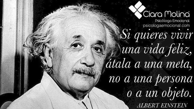 Albert Einstein - La meta