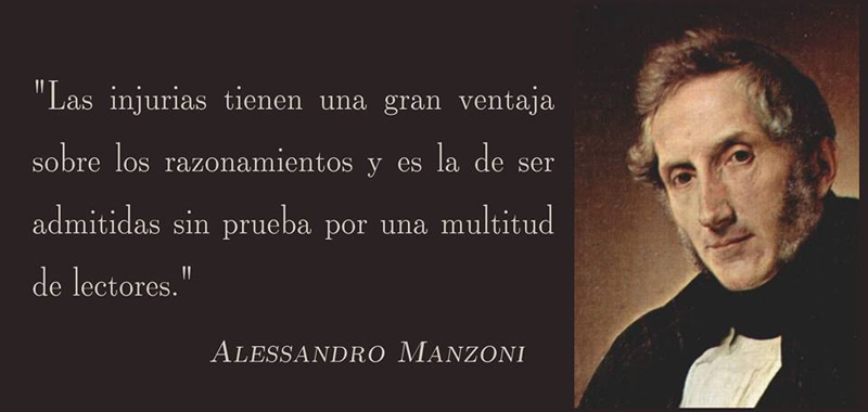 Alessandro Manzoni - La injuria