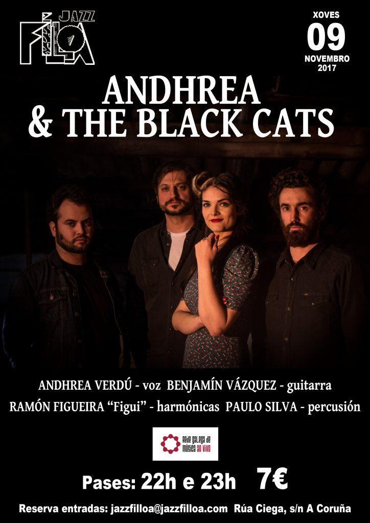 ANDREA & THE BLACK CATS