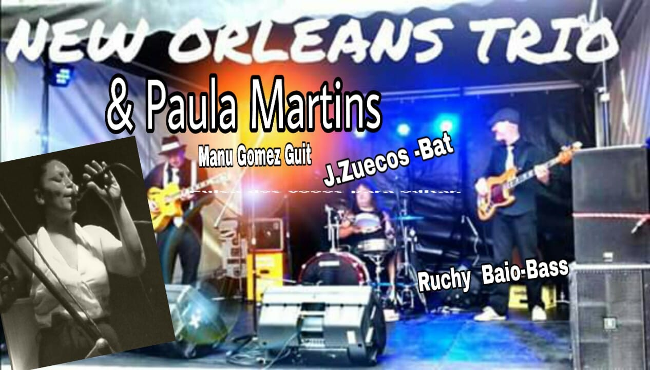 New Orleans & Paula Martins.