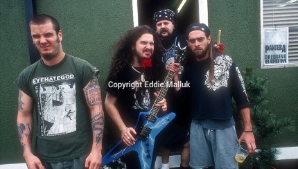 Pantera; 1994 Donnington Festval; June 4, 1994;  Donington Park, Castle Donington, UK Photo Credit: Eddie Malluk